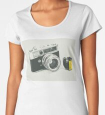 Retro photography Women's Premium T-Shirt