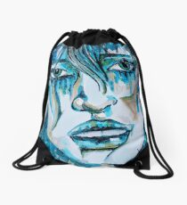 She is Asherah - the one who walks in the Sea Drawstring Bag