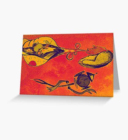 Wonderful Men  Greeting Card