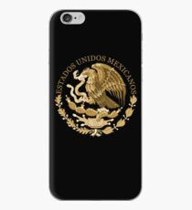 mexico coat of arms bronze iPhone Case