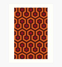 Overlook Hotel Carpet (The Shining)  Art Print