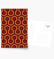 Overlook Hotel Carpet (The Shining)  Postcards