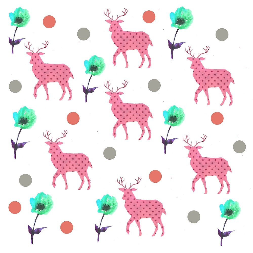 Deer story by Teshee