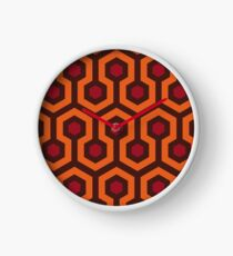 Overlook Hotel Carpet (The Shining)  Clock