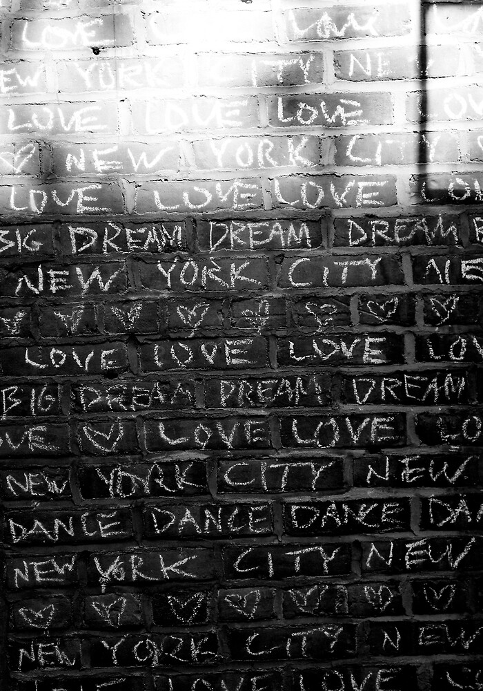 love letter to NYC by gp-on-e