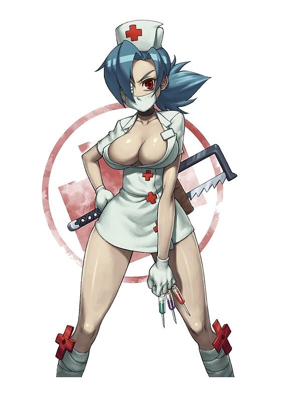 Skullgirls   Nurse Valentine By PierreD