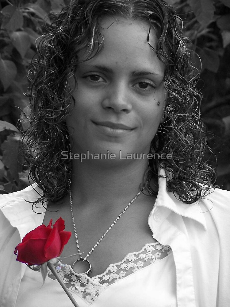Red Rose by Stephanie Lawrence