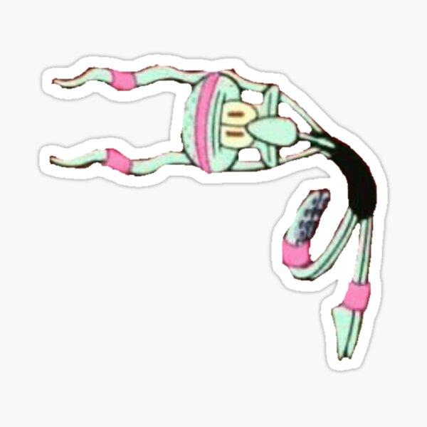 Dancing squidward Sticker