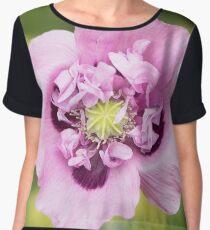Opium Poppy Women's Chiffon Top