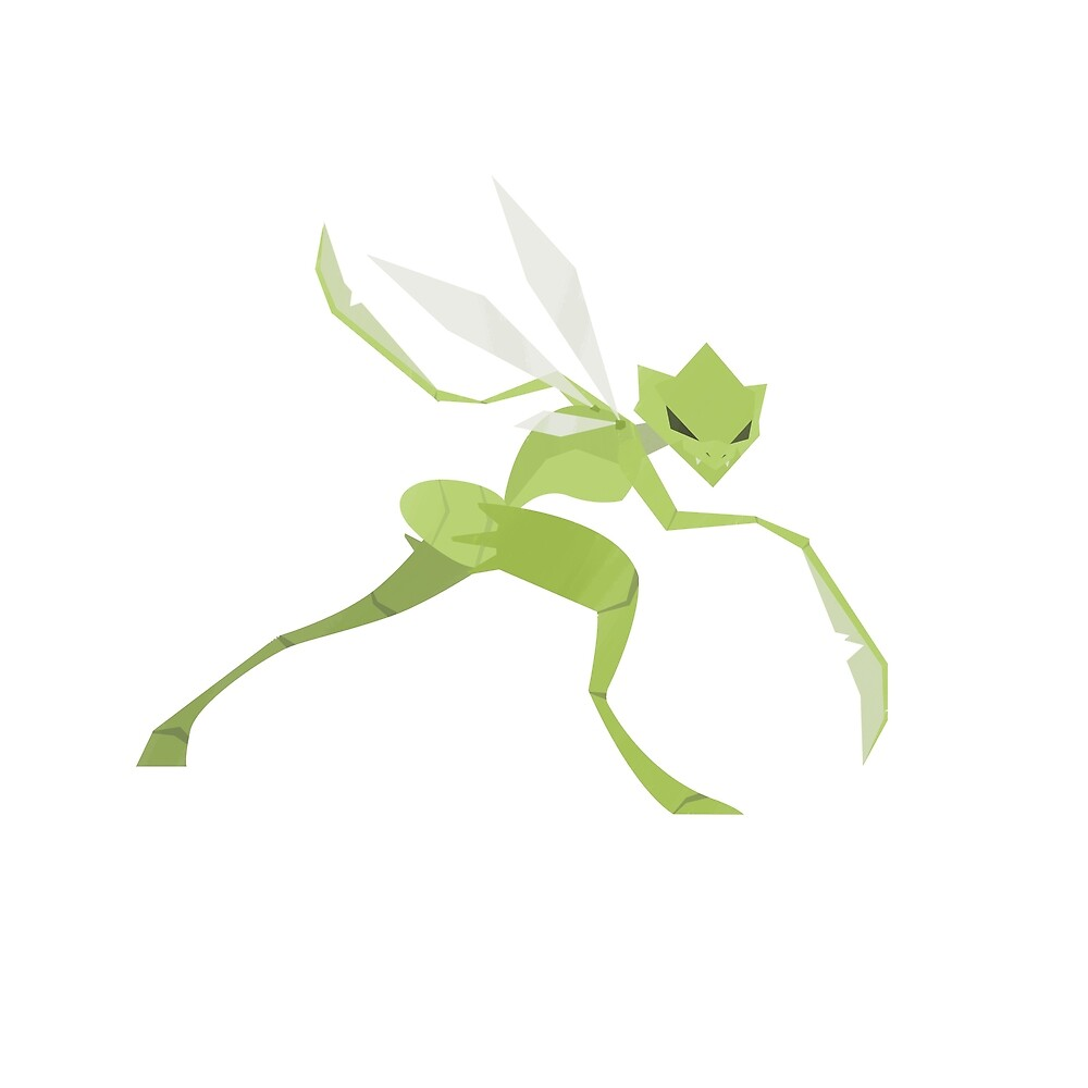 Scyther by Jswavely