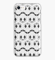 Panda honeycomb iPhone Case/Skin