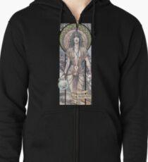 II - THE PRIESTESS (ZeMiaL) Veste zippée à capuche