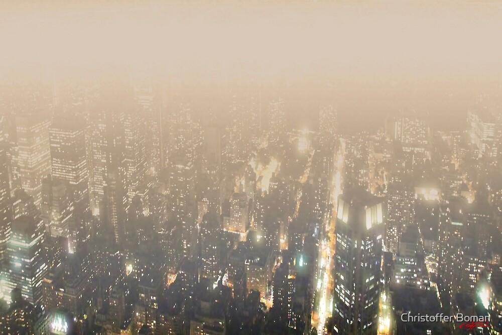 New York City 2050 by Christoffer Boman