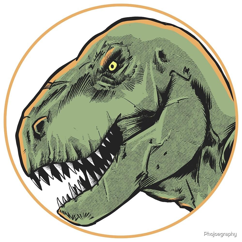 T-Rex Head by Phojoegraphy