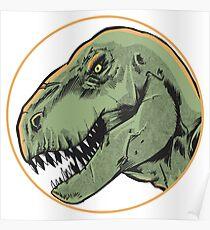 T-Rex Head Poster