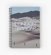 London grammar - o man o woman sleeve art - fanart Spiral Notebook