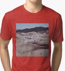 London grammar - o man o woman sleeve art - fanart Tri-blend T-Shirt