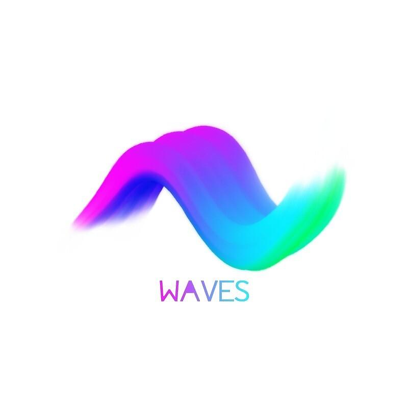 Technicolour Waves Design by BigChig