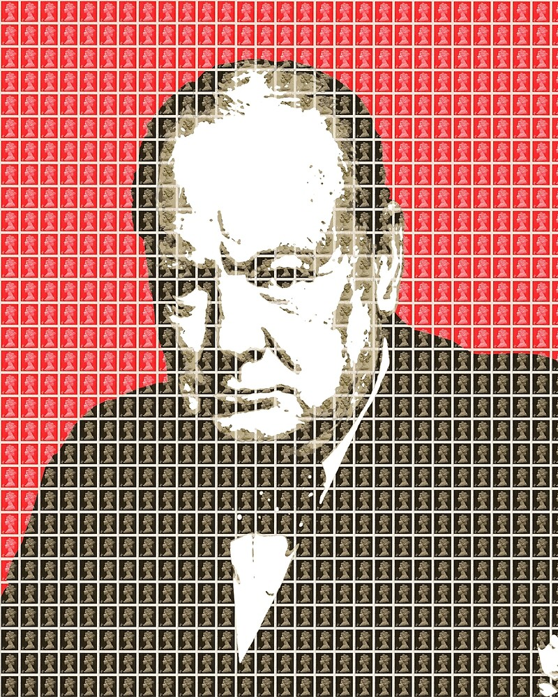 Churchill - Red by Gary Hogben