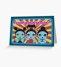 Fruity Oaty Bar! Shirt 2 (Firefly/Serenity) Greeting Card