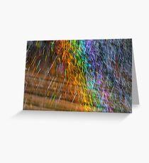 Sprinkler Greeting Card