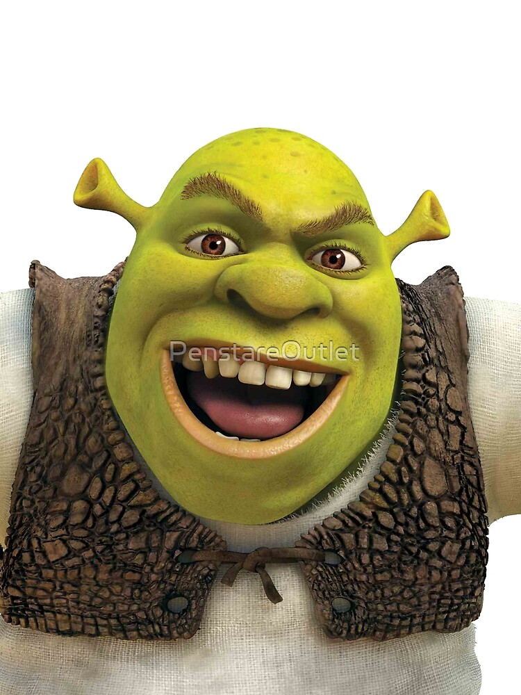 Shrek is not pleased by PenstareOutlet