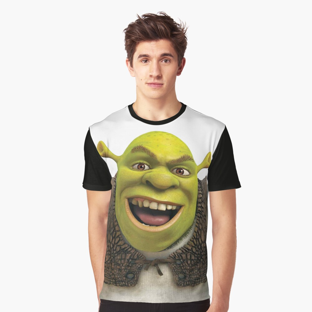 Shrek is not pleased Graphic T-Shirt Front