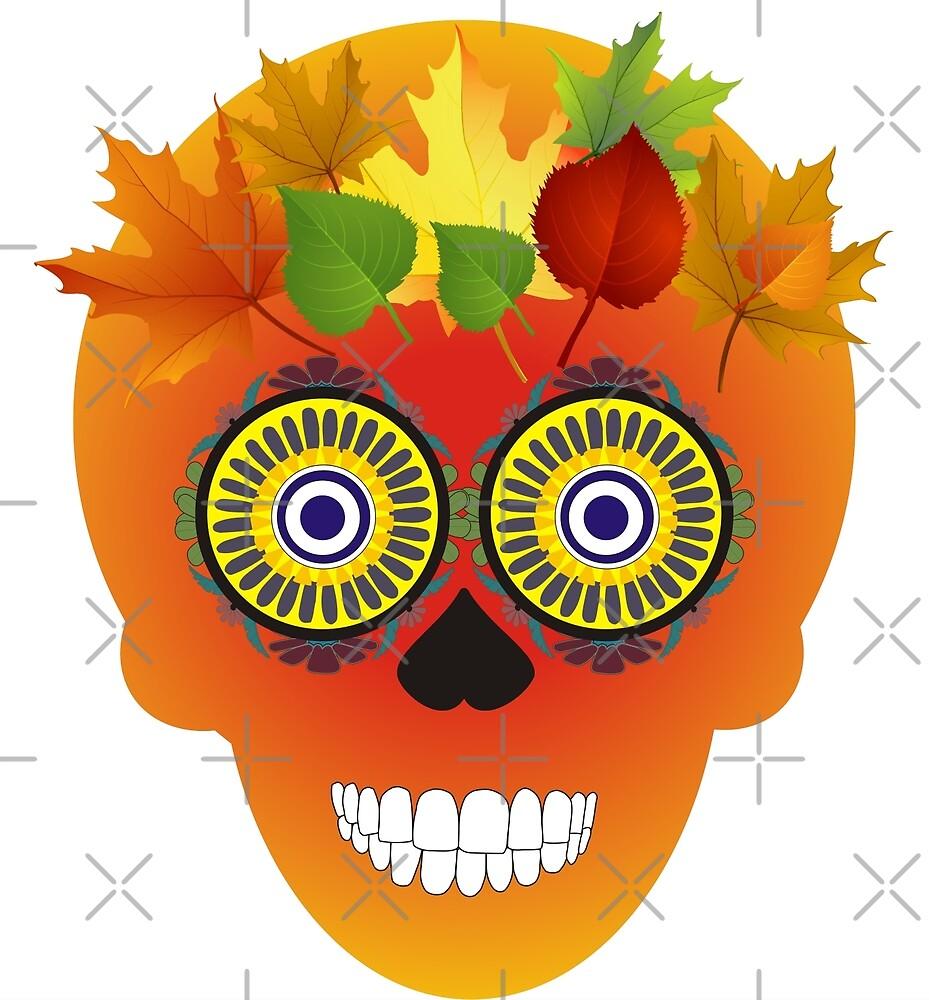 Sugar Skull by xorbah
