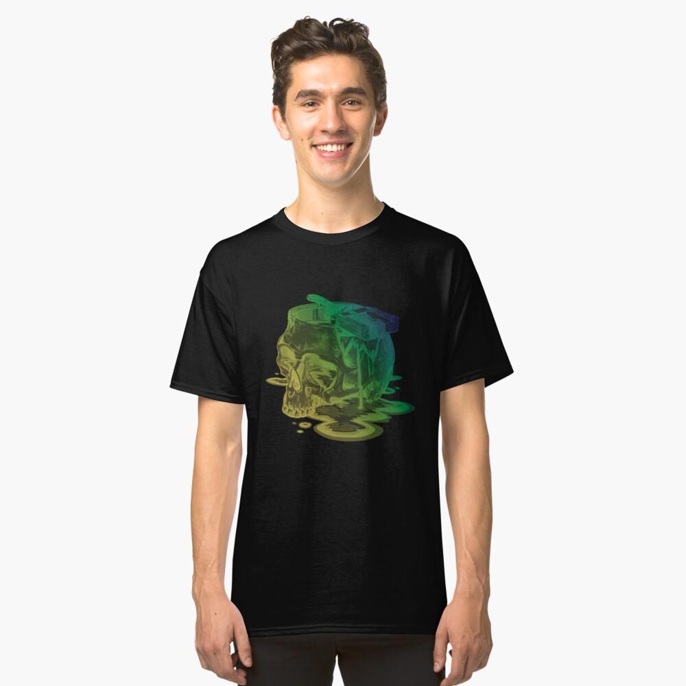 Skull Painter Classic T-Shirt Front