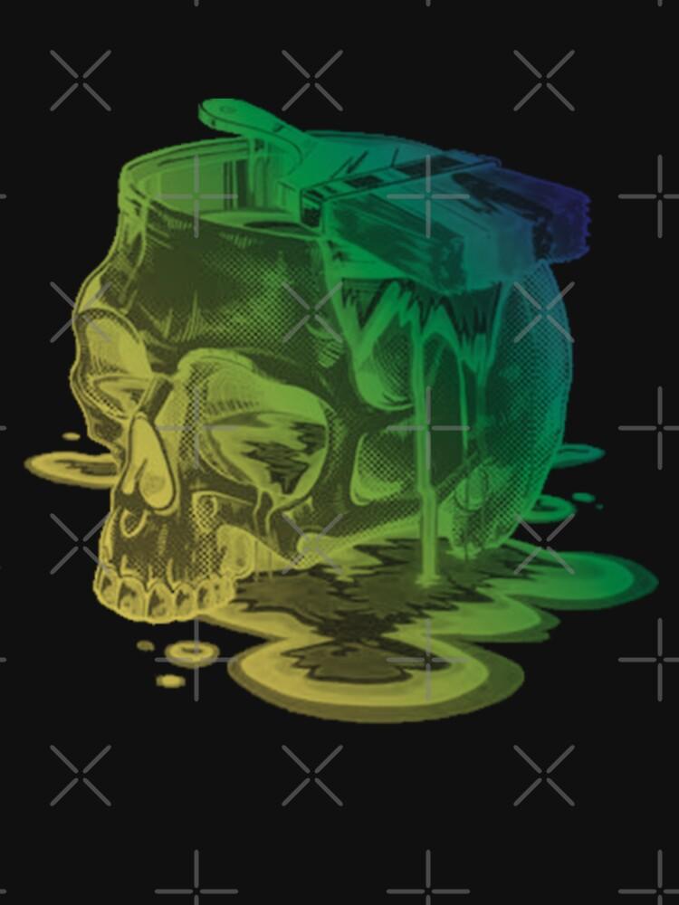 Skull Painter by GoldyMaster07