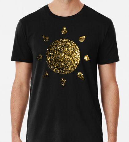Beautiful Yellow Gold glitter sparkles Men's Premium T-Shirt