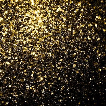 Beautiful Yellow Gold glitter sparkles by PLdesign