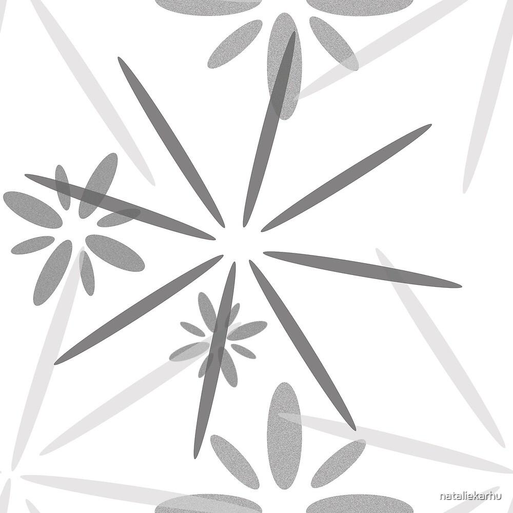 Silver Snowflakes by nataliekarhu