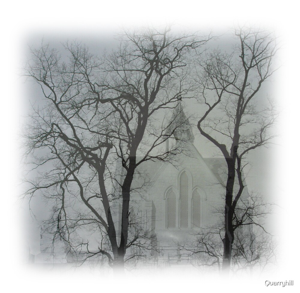 Chapel in Winter by Quarryhill