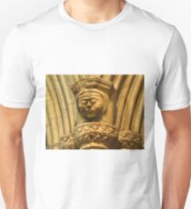 Stone Carving, Selby Abbey T-Shirt