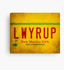 LWYRUP (Breaking Bad, Better Call Saul) Canvas Print