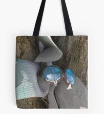 Wadsworth dragonfly in winter Tote Bag