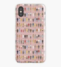 Wes Anderson Characters iPhone Case/Skin