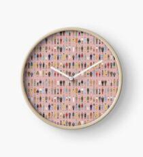 Wes Anderson Charaktere Uhr