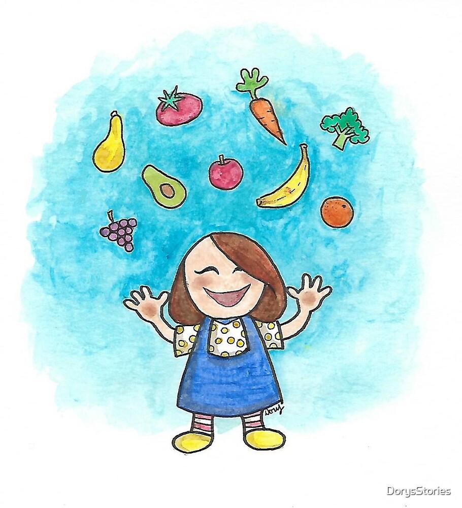 Cute Fruit by DorysStories