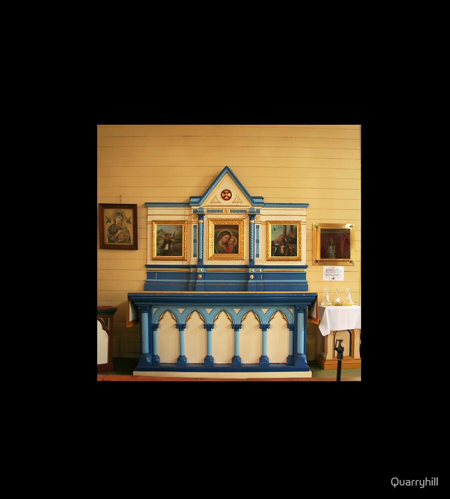 Blue Altar, St Killian's, Bendigo by Quarryhill