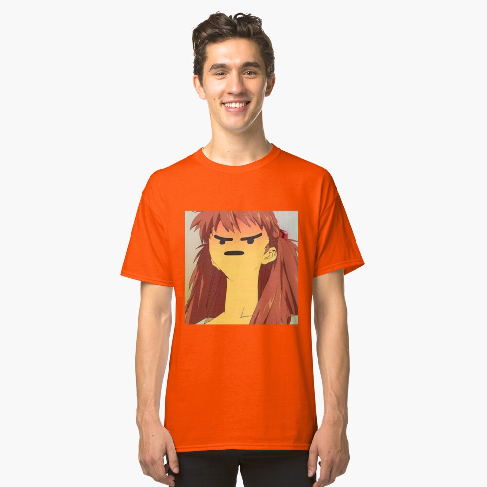 Angry Asuka Classic T-Shirt Front