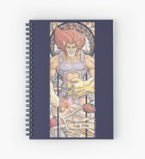 XVII - THE STAR (ZeMiaL) Spiral Notebook