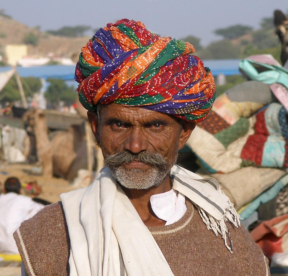 Camel Seller by Fred Everett