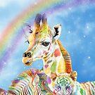 Rainbow Zoo by Carol  Cavalaris