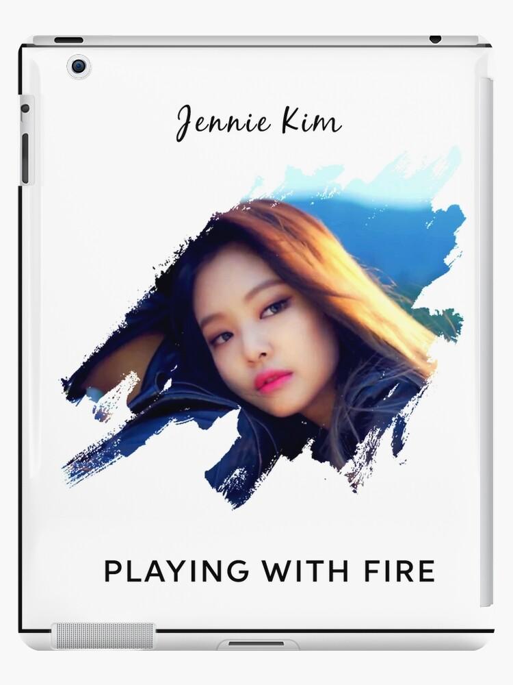 Blackpink Jennie Playing With Fire Ipad Case Skin By Nurfzr