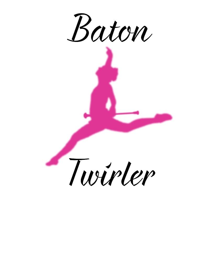 Fun Baton Twirling T-shirts by lilsvariety