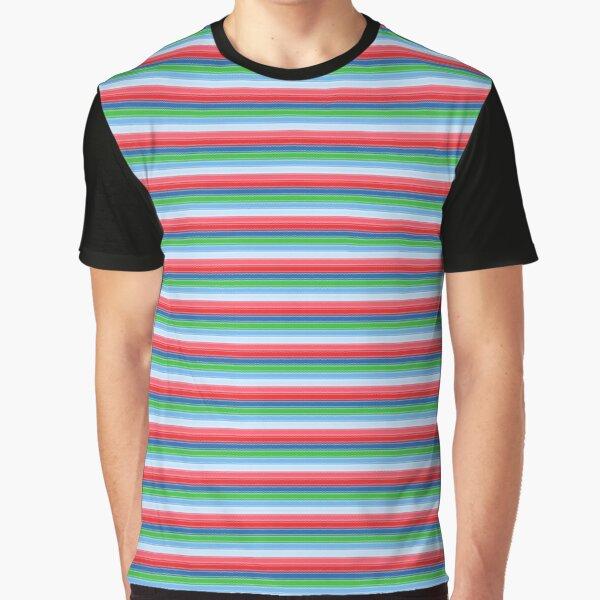 Good Guys Child's Play Chucky - Killer Doll - Stripes Graphic T-Shirt