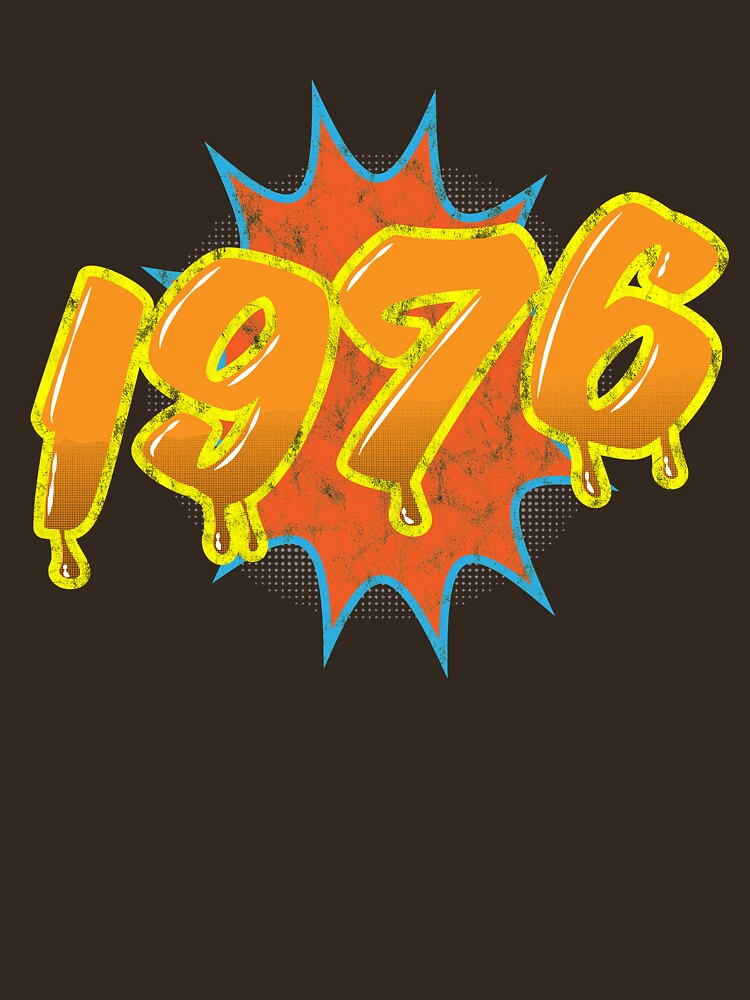 1976 Birthday Shirt For Old School Tshirt Lovers by inkedtee