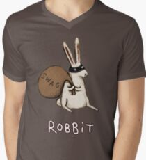 Robbit Men's V-Neck T-Shirt